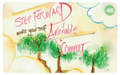 Step Forward, Make Yourself Available & Commit